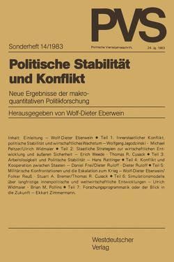 Politische Stabilität und Konflikt von Eberwein,  Wolf-Dieter