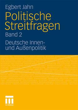 Politische Streitfragen von Jahn,  Egbert