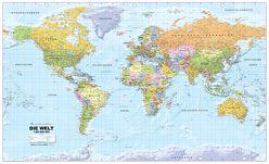 Politische Weltkarte 1:20Mio deutsch