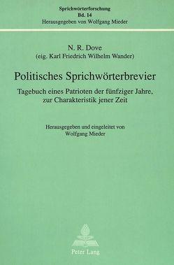 Politisches Sprichwörterbrevier von Mieder,  Wolfgang