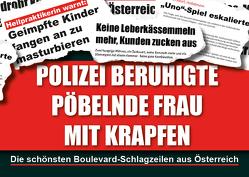 Polizei beruhigte pöbelnde Frau mit Krapfen von Ettenauer,  Clemens