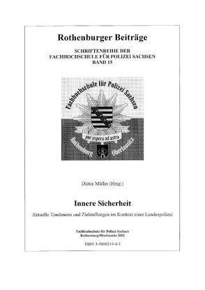 Polizei und innere Sicherheit von Müller,  Dieter, Rasch,  Horst