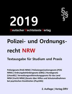 Polizei- und Ordnungsrecht NRW von DRV,  Redaktion