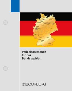 Polizeiadressbuch für das Bundesgebiet von Verlag