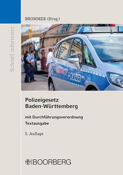 Polizeigesetz Baden-Württemberg von Brommer,  Philippe-Alexandre