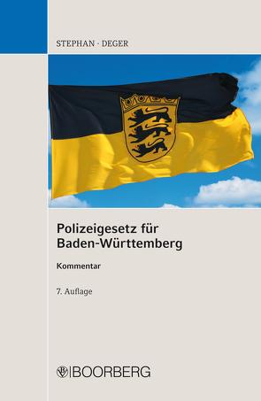 Polizeigesetz für Baden-Württemberg von Deger,  Johannes, Reiff,  Hermann, Stephan,  Ulrich, Wöhrle,  Günther, Wolf,  Heinz