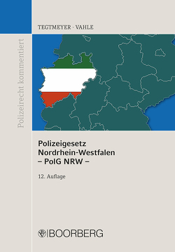 Polizeigesetz NRW von Tegtmeyer,  Henning, Vahle,  Jürgen