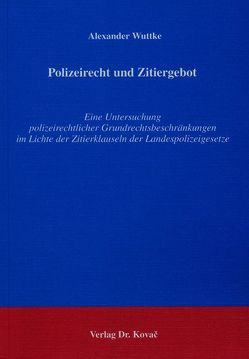 Polizeirecht in Baden-Württemberg von Heckmann, Dirk ...
