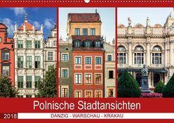 Polnische Stadtansichten (Wandkalender 2018 DIN A2 quer) von Steiner und Matthias Konrad,  Carmen