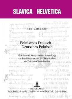 Polnisches Deutsch – Deutsches Polnisch von Cerná-Willi,  Rahel