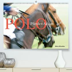 Polo Pferde + Aktion 2021 (Premium, hochwertiger DIN A2 Wandkalender 2021, Kunstdruck in Hochglanz) von Landsherr,  Uli