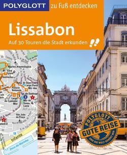 POLYGLOTT Reiseführer Lissabon zu Fuß entdecken von Lier,  Sara