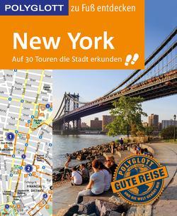 POLYGLOTT Reiseführer New York zu Fuß entdecken von Chowanetz,  Ken