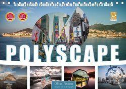 Polyscape Bildwelten (Tischkalender 2019 DIN A5 quer) von Pinkoss,  Oliver