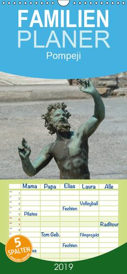 Pompeji-Kalender – Familienplaner hoch (Wandkalender 2019 , 21 cm x 45 cm, hoch) von Weimar,  Vincent