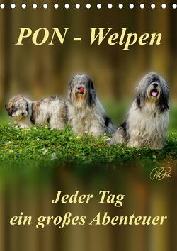 PON-Welpen – jeder Tag ein großes Abenteuer / Planer (Tischkalender 2021 DIN A5 hoch) von Roder,  Peter