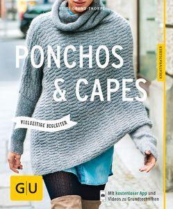 Ponchos und Capes stricken von Grund-Thorpe,  Heidi