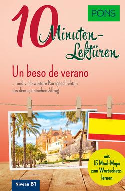 PONS 10-Minuten-Lektüren Spanisch B1 – Un beso de verano