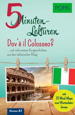 PONS 5-Minuten-Lektüren Italienisch A1 – Dov'è il Colosseo?