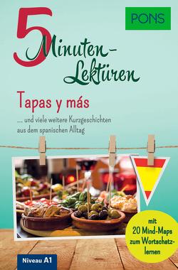 PONS 5-Minuten-Lektüren Spanisch A1 – Tapas y más