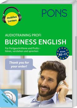 PONS Audiotraining Profi Business English von PONS GmbH