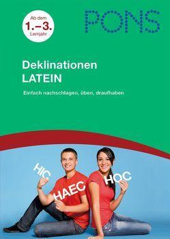 PONS Deklinationen Latein ab dem 1. Lernjahr von Must,  Thomas, Söllner,  Maria A