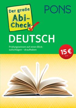 PONS Der große Abi-Check Deutsch