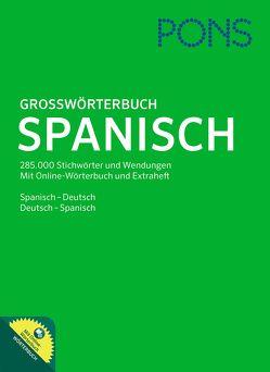 PONS Großwörterbuch Spanisch