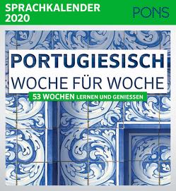 PONS Sprachkalender 2020 Portugiesisch Woche für Woche