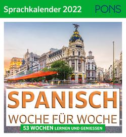 PONS Sprachkalender 2022 Spanisch