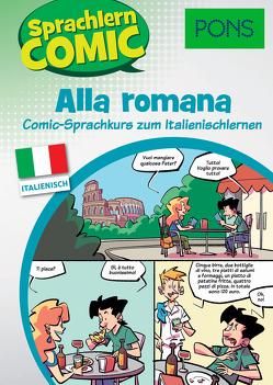 PONS Sprachlern-Comic Italienisch – Alla romana