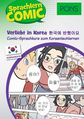 PONS Sprachlern-Comic Koreanisch – Verliebt in Korea
