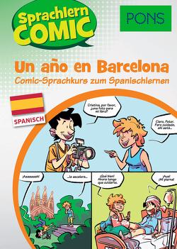 PONS Sprachlern-Comic Spanisch – Un ano en Barcelona