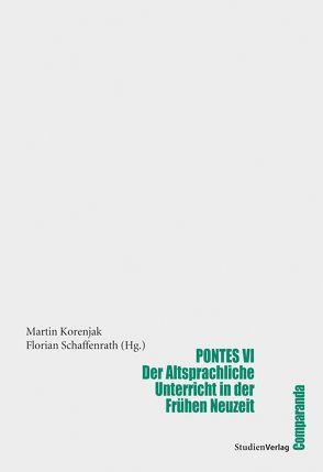 Pontes VI von Florian Schaffenrath (Hrsg.), Korenjak,  Martin