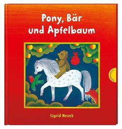 Pony, Bär und Apfelbaum von Heuck,  Sigrid