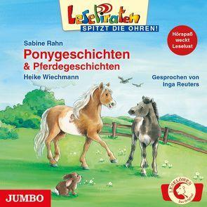 Ponygeschichten & Pferdegeschichten von Rahn,  Sabine, Reuters,  Inga, Wiechmann,  Heike