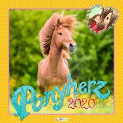 Ponyherz 2020 Wandkalender von Harvey,  Franziska, Luhn,  Usch, Slawik,  Christiane
