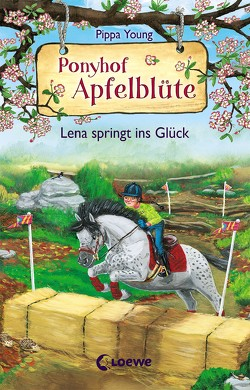 Ponyhof Apfelblüte (Band 16) – Lena springt ins Glück von Hernando,  Saeta, Margineanu,  Sandra, Young,  Pippa