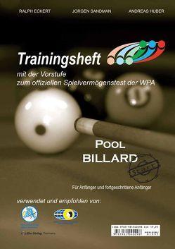 Pool Billard Trainingsheft PAT-Start von Eckert,  Ralph, Huber,  Andreas, Sandman,  Jorgen