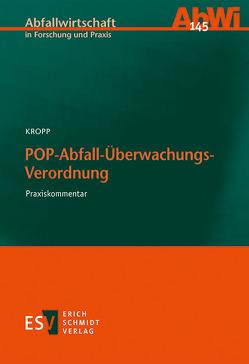 POP-Abfall-Überwachungs-Verordnung von Kropp,  Olaf