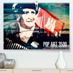 POP ART 3500 (Premium, hochwertiger DIN A2 Wandkalender 2021, Kunstdruck in Hochglanz) von Mühlbauer-Gardemin