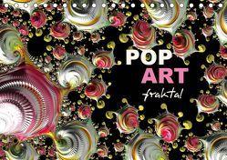 POP ART fraktal (Tischkalender 2019 DIN A5 quer) von M. Burkhardt,  Shako