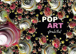 POP ART fraktal (Wandkalender 2018 DIN A4 quer) von M. Burkhardt,  Shako