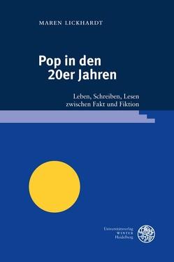 Pop in den 20er Jahren von Lickhardt,  Maren