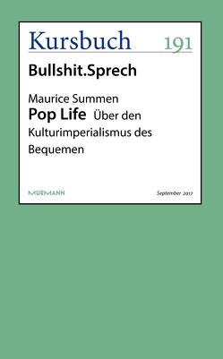 Pop Life von Summen,  Maurice