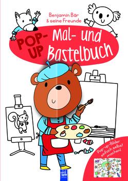 Pop-Up Mal- und Bastelbuch Bär