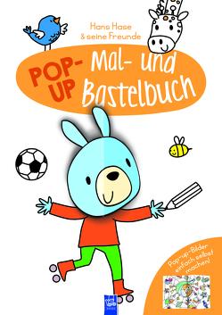 Pop-Up Mal- und Bastelbuch Hase