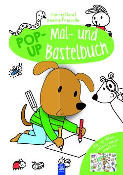 Pop-Up Mal- und Bastelbuch Hund