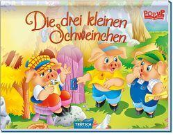 """Pop-up-Mini """"Die drei kleinen Schweinchen"""""""