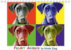 PopArt Animals (Tischkalender 2019 DIN A5 quer) von Zeug,  Nicole